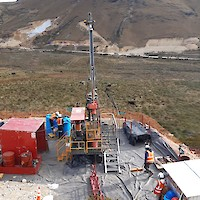 Phase II drilling recommenced at the AntaKori project in October 2020